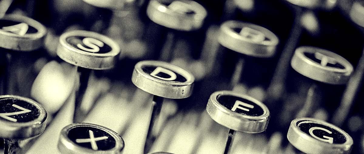 מכונת כתיבה