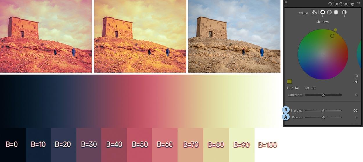 Color Grading דוגמא נוספת